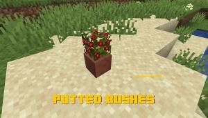 Potted Bushes - ягоды в горшке [1.14.4]