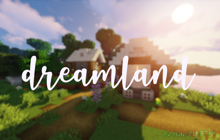 Dreamland pack - мультяшный ресурспак [1.14.4] [16x]