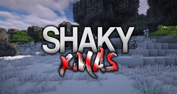 ShakyXmas - зимне-новогодний ресурспак [1.15] [1.14.4] [1.13.2] [16x]