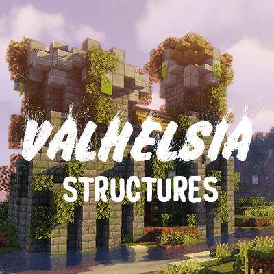 Valhelsia Structures - новые структуры, развалины [1.16.1] [1.15.2] [1.14.4]