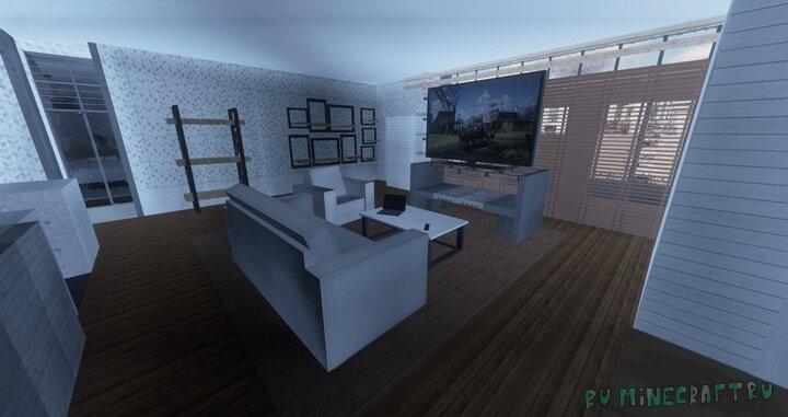 Реалистичные текстуры с мебелью и декором