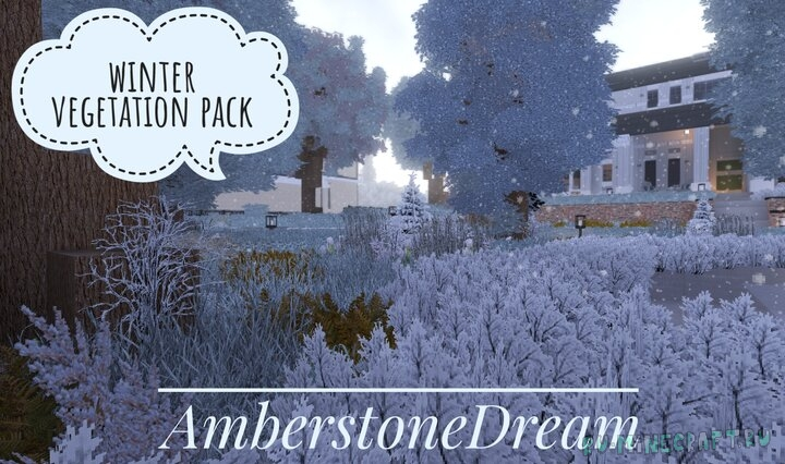 Amberstone - Realistic winter pack [1.15.1] [1.14.4] [1.13.2] [256x] [512x]