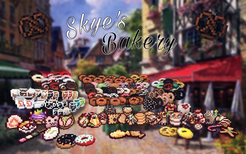 Skye's Bakery - выпечка, пончики, напитки [1.15.2] [1.14.4] [1.12.2] [1.11.2] [1.10.2]