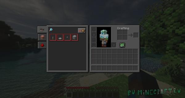 Default Dark Mode - темный инвентарь [1.17] [1.16.4] [1.15.2] [1.14.4] [1.12.2] [1.7.10] [16x]