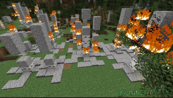 Ash to Ash - пепел от сгоревших вещей [1.14.4]