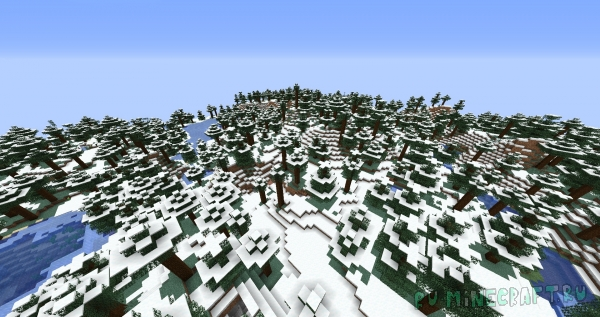 Snow Under Trees - снег под деревьями [1.16.3] [1.15.2] [1.14.4]