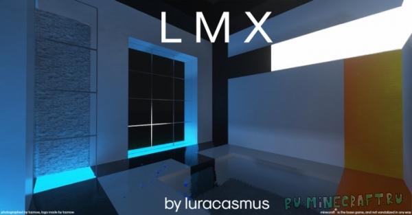 LMX - реалистичный футуристичный ресурспак [1.15] [1.14.4] [256x]
