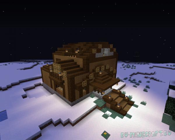 SnowyHouse - новогодний дом [1.14.x]