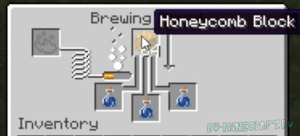 Potion of Bees - зелье с пчёлами [1.15.2]