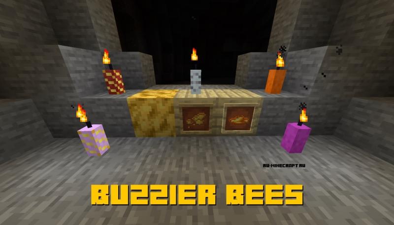 Buzzier Bees - больше вещей с пчёлами [1.16.1] [1.15.2]