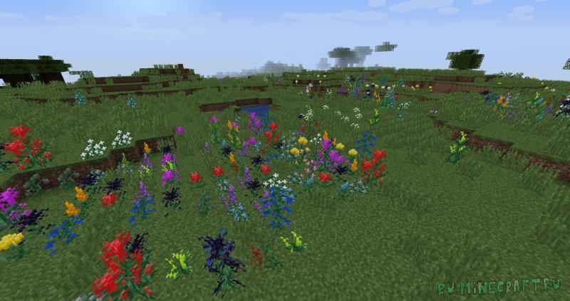Flonters - большое разнообразие цветов [1.15.1]