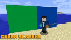 Green Screen - блоки для хромакея [1.16.5] [1.15.2] [1.14.4] [1.12.2] [1.8.9] [1.7.10]