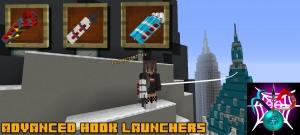 Advanced Hook Launchers - гарпуны, крюки [1.16.5] [1.15.2] [1.14.4] [1.12.2] [1.11.2] [1.10.2] [1.7.10]
