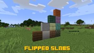 Flipped Slabs - перевёрнутые полублоки [1.14.4]