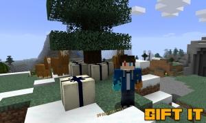 Gift It - блоки подарков [1.16.5] [1.15.2] [1.14.4]