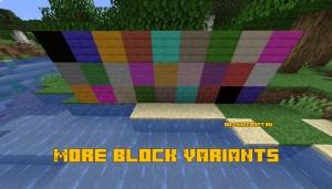 More Block Variants - больше вариантов цветов [1.14.4]