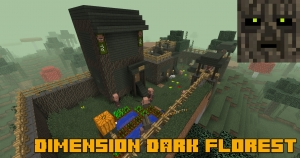 Dimension Dark Florest (Elfs Dark) - измерение темных эльфов [1.12.2]