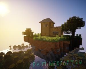 Soaring Structures - летающие острова с постройками и наградами! [1.12.2]