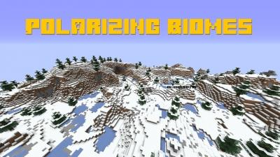 Polarizing Biomes - новые зимние биомы [1.17.1] [1.16.5] [1.15.2] [1.14.4]