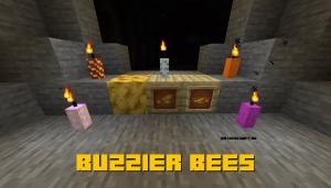 Buzzier Bees - больше вещей с пчёлами [1.16.5] [1.15.2]
