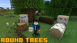 Round Trees - текстуры круглых деревьев [1.15.1] [1.14.4] [1.12.2] [1.8.9]