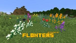 Flonters - большое разнообразие цветов [1.16.2] [1.15.2]