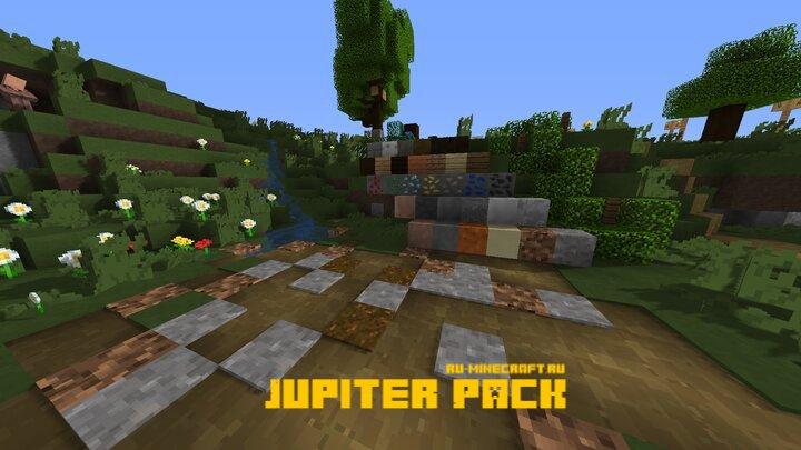 Jupiter Pack - простой и гладкий ресурспак [1.15.1] [1.14.4] [1.13.2] [16x]