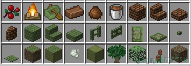 Swamp Expansion - увеличение количества предметов с болот [1.14.4]