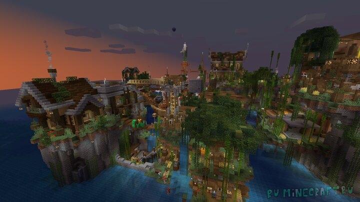 Utopia - деревушка на воде [1.15.1] [1.14.4]