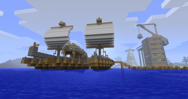 New Frontier Craft — новое приключение в старом Minecraft [Beta 1.7.3]