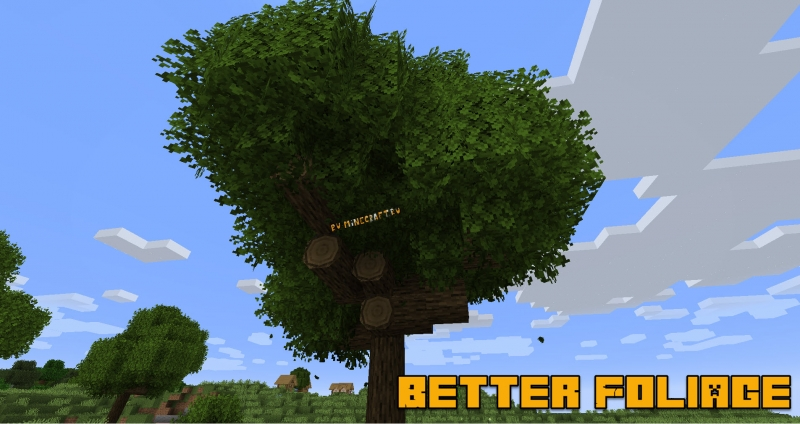 Better Foliage - реалистичная листва [1.14.4] [1.12.2] [1.11.2] [1.10.2] [1.8.9] [1.7.10]