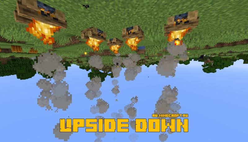 Upside Down - мир верх дном [1.15.2] [1.15.1] [1.14.4] [1.13.2] [1.12.2]