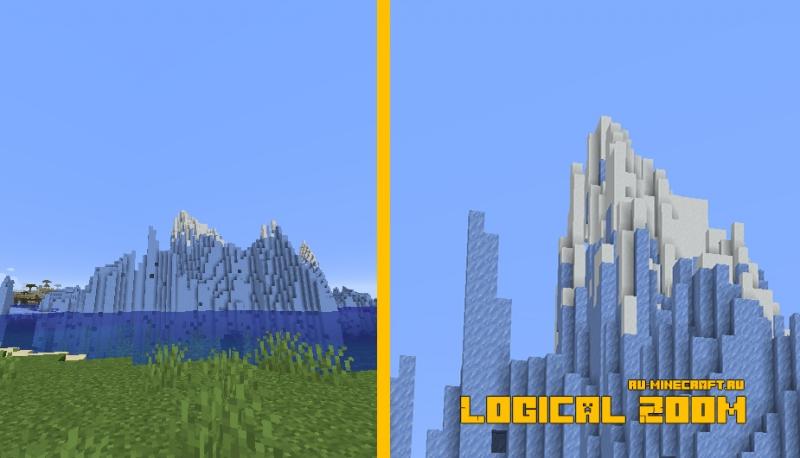 Logical Zoom - увеличение, приближение в игре [1.16.5] [1.15.2]