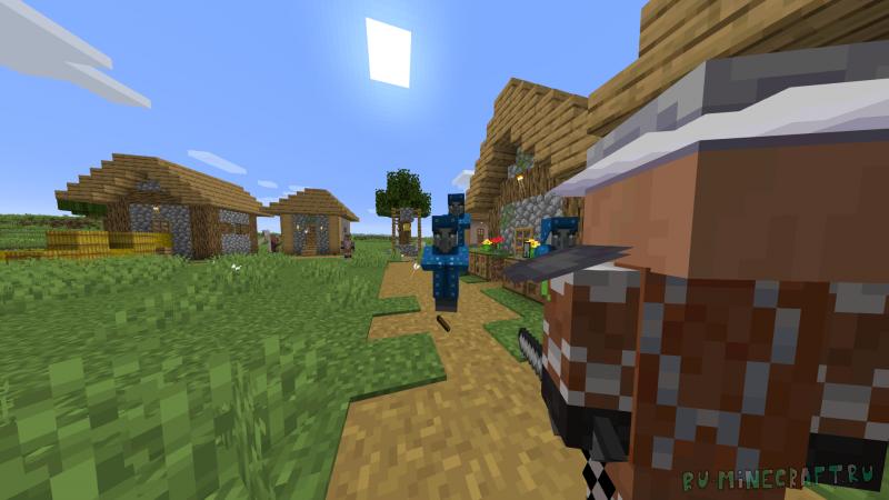 Guard Villagers - защитники в деревнях [1.16.5] [1.15.2] [1.14.4]
