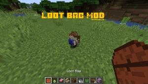 Loot Bag Mod - сумка с лутом [1.15.2] [1.14.4] [1.12.2]