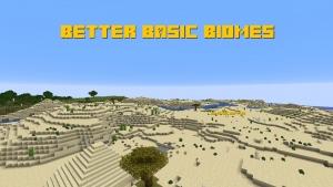 Better Basic Biomes - улучшенные ванильные биомы [1.14.4]