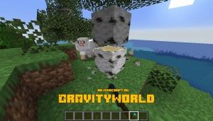 GravityWorld - гравитация в мире [1.16.2] [1.15.2] [1.14.4] [1.12.2] [1.10.2] [1.7.10]