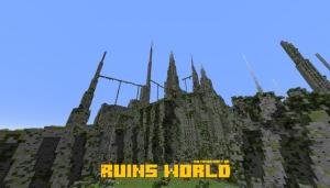 Ruins world - разрушенный мир [1.15.1] [1.14.4] [1.13.2]