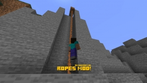 Ropes Mod! - веревка-лестница [1.16.2] [1.15.2]