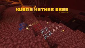 Kuba's Nether Ores - обычные руды в аду [1.15.2]