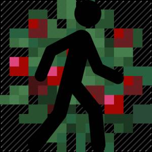 Walk Through Berries - по кустам без урона [1.15.1] [1.14.4]
