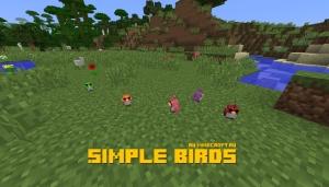 Simple Birds - простые птички [1.12.2]