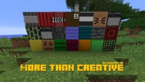 More Than Creative - рандомные блоки для декора [1.12.2]
