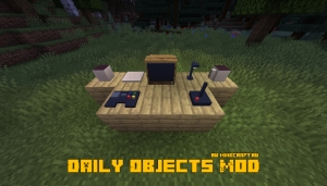 Daily Objects Mod - ламповые предметы декора [1.14.4]