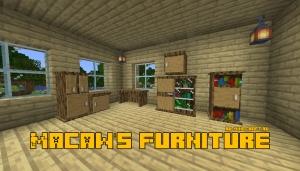 Macaw's Furniture - вещи для обустройства интерьера дома [1.15.2] [1.14.4] [1.12.2]