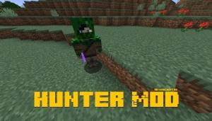 Hunter Mod - новый моб - охотник [1.16.3] [1.15.2]