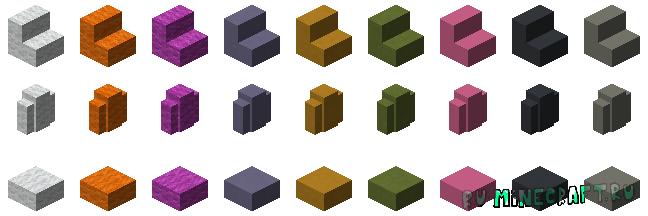 Aurum's More Blocks - больше блоков для декора [1.15.2]