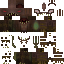 Скин - монстр из незерита