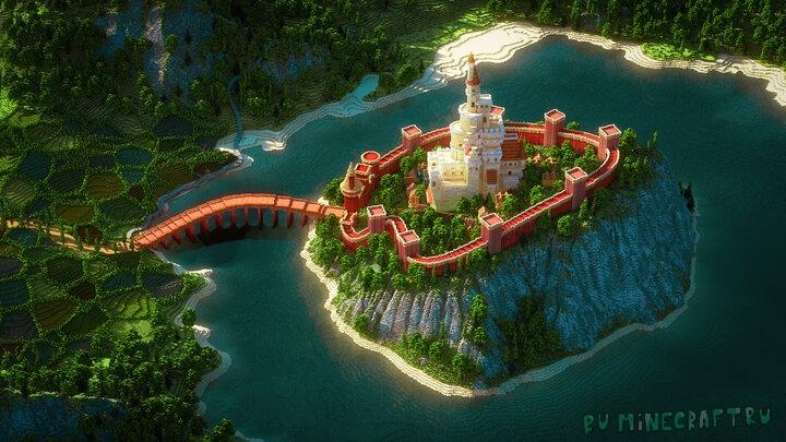 Castle - замок на острове [1.15.2] [1.14.4] [1.13.2]