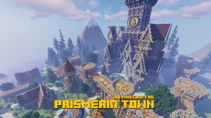 Prismeria Town - средневековый городок [1.15.2] [1.14.4] [1.13.2]
